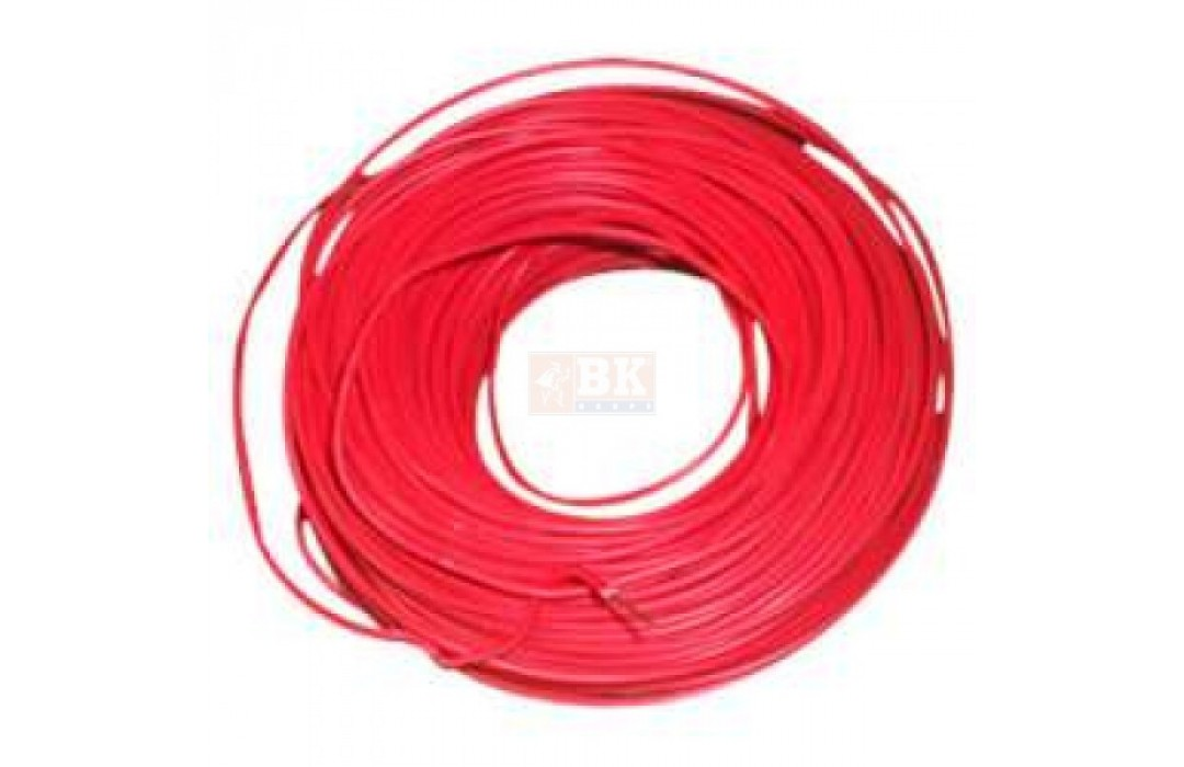 Gaisrinis kabelis 2x1.0mm (monolitinis)