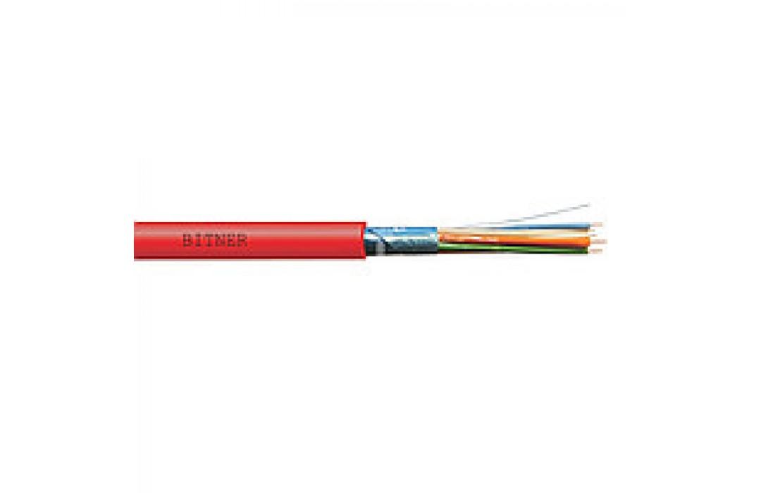 Gaisrinis ekranuotas behalogeninis kabelis Bitner HTKSH (ekw) 4x0,8mm