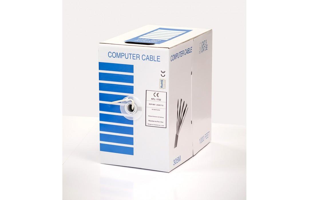FTP kabelis LTECH CAT5e (305m) (vidaus)