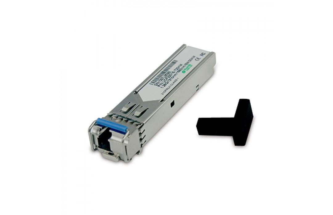 Optinis integruojamas keitiklis UTEPO SFP BiDi RX1550TX1310