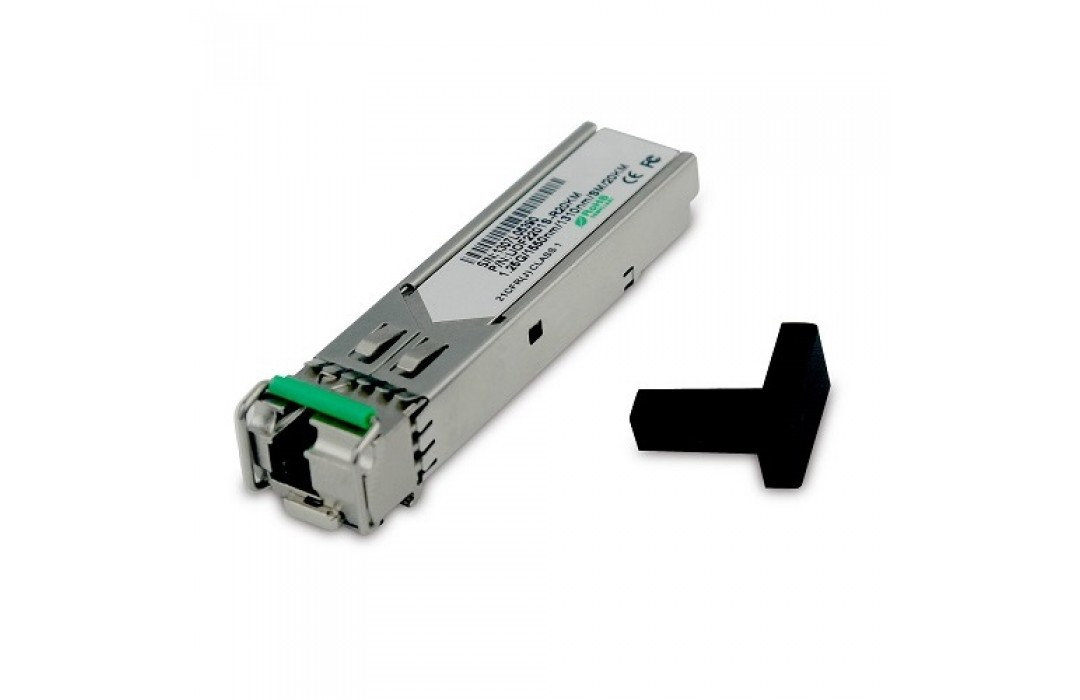 Optinis integruojamas keitiklis UTEPO SFP BiDi TX1310RX1550