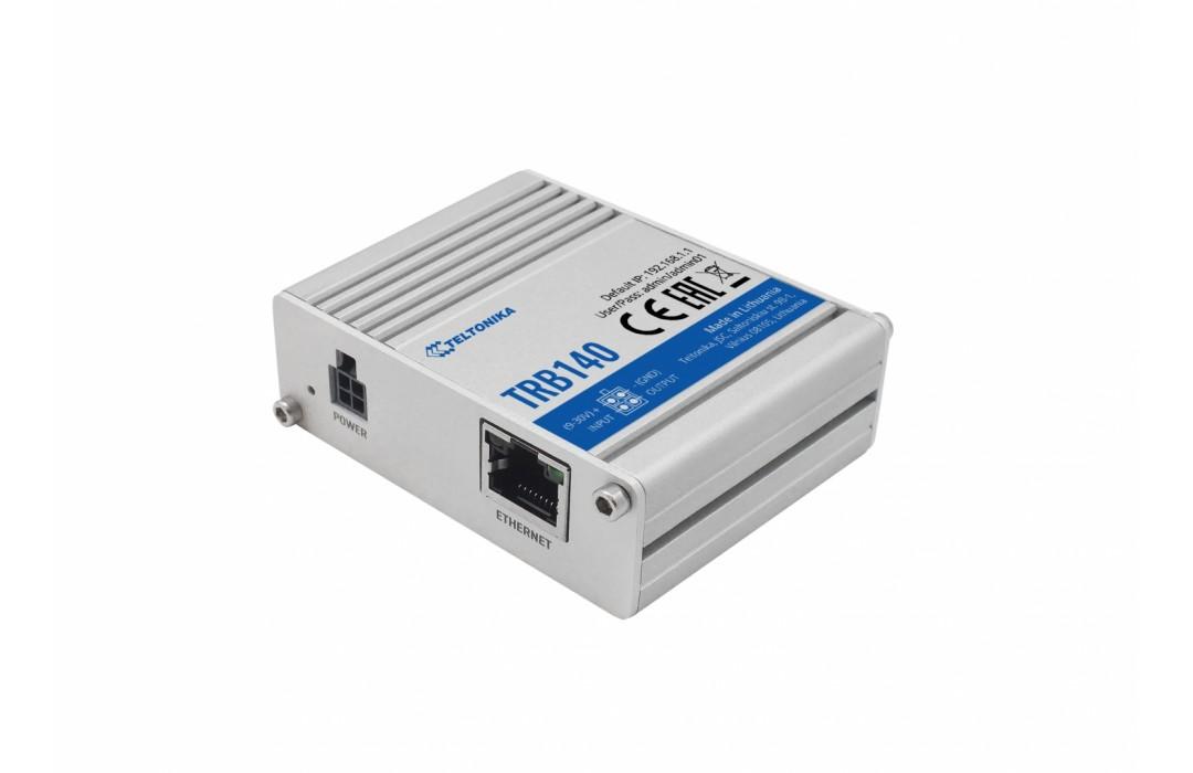 TELTONIKA pramoninė tinklo sąsaja LTE TRB140 - 4GLTE