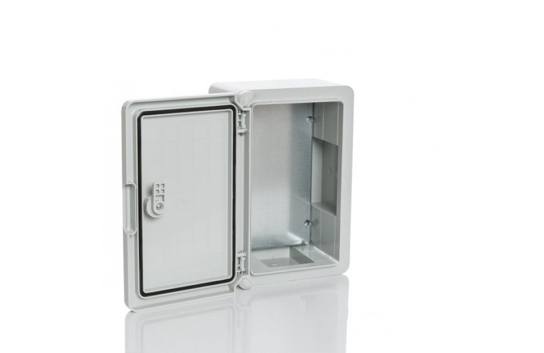 Plastim plastikinė dėžė 400x300x170