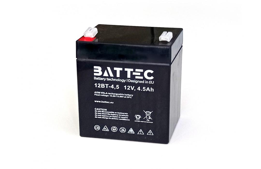 Akumuliatorius BATTEC 4,5Ah 12V