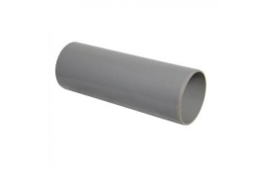 Tiesus sujungimas 32mm vamzdžiams su išplatintu galu, pilkas (100)